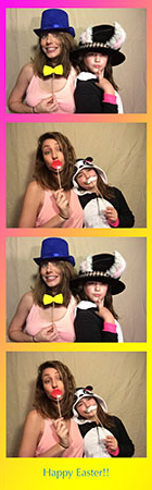 easter photo strip